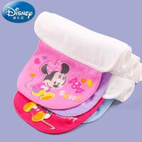 Disney baby 迪士尼米妮米奇宝宝吸汗巾 婴儿童 纱布垫背巾隔汗巾