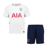 热刺球衣17-18主场儿童足球服短袖客场套装托特纳姆热刺10号凯恩可定制印字印号