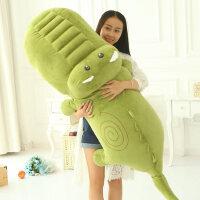 鳄鱼公仔大号毛绒玩具睡觉抱枕卡通枕头可爱布娃娃玩偶女生日礼物
