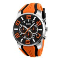 男士防水手表个性石英机心六针大表盘男表时尚运动潮流腕表