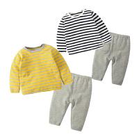 婴儿童套装男女8宝宝5春秋季衣服9外出服0-1岁3个月秋季秋冬款