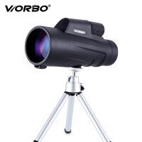 战狼军标IPX8级充氮防水 /微光夜视高清单筒望远镜高倍 战狼军备DP1250标配