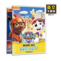 英文原版PAW Patrol汪汪队立大功1-2季 英语字幕 车载光碟动画DVD 幼儿童英语碟片光盘