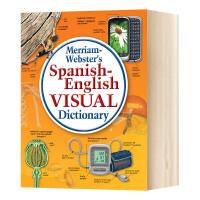 韦氏西班牙语 英语视觉词典 英文原版 Merriam Webster's Spanish English Visual