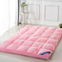 家纺秋冬保暖加厚10厘米水晶绒立体床垫床褥子学生宿舍单人双人榻榻米