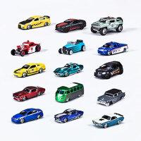 儿童玩具1:64合金小车模仿真大众�e克福特野马奔驰汽车模型