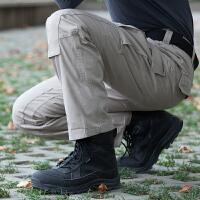 装甲师纯棉战术裤 户外休闲长裤 城市特工作战作训裤子 男士多口袋功能休闲裤子