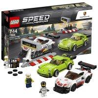 【当当自营】LEGO乐高保时捷911RSR和保时捷911Turbo3.0 75888