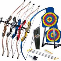 儿童弓箭玩具男孩子射击玩具户外运动健身器材吸盘射箭绿箭侠