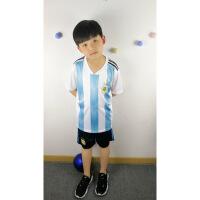 2018阿根廷世界杯足球服套装速干儿童球衣幼儿园男孩比赛服女