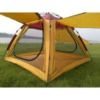 防晒防雨速开帐篷沙滩公园郊游钓鱼遮阳棚赠地席撑杆SN3062 +防潮垫