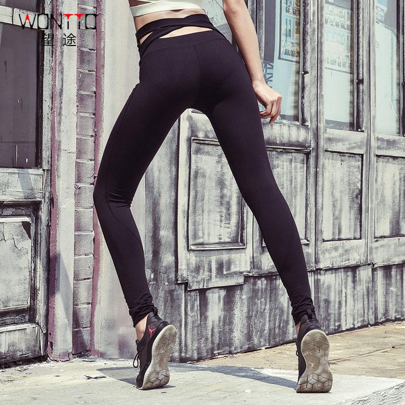 20180414145022312瑜伽裤女弹力紧身中高腰运动裤跑步长裤速干裤交叉健身裤女 发货周期:一般在付款后2-90天左右发货,具体发货时间请以与客服协商的时间为准