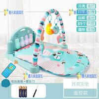 婴儿玩具脚踏琴健身架毯宝宝0-1岁12个月床铃脚蹬哄娃神器3-6男孩
