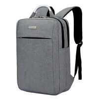 胜杰罗电脑包双肩包15.6寸14寸男士商务背包韩版手提休闲女书包