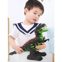 恐龙玩具儿童电动仿真动物模型遥控霸王龙加大号会走路的玩具男孩