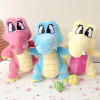 婚庆娃娃毛绒玩具可爱小恐龙小公仔玩偶布艺装饰儿童礼品公司活动