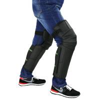 20180315063642506新款摩托车护膝羊毛羊绒保暖冬季骑行防风防寒电动车牛皮护膝