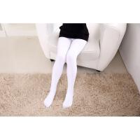 儿童连裤袜9春秋冬款加厚4加绒白色舞蹈袜女童打底裤袜57岁女孩