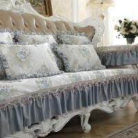 欧式沙发垫冬季防滑垫四季通用坐垫套真皮组合布艺沙发套