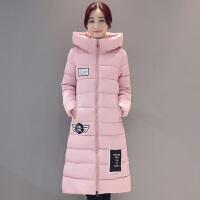 棉衣女中长款2017冬季新款韩版a字羽绒大码宽松学生棉袄外套