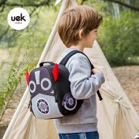 男女孩双肩背包机器人宝宝小书包幼儿园书包儿童1-3岁