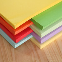 玛丽方形叠纸A4复印纸小学生彩色纸 长手工纸儿童折纸 80g打印纸