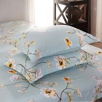 枕套一对 单人枕套 信封枕套48*74学生宿舍 枕芯套 一对 48cmX74cm