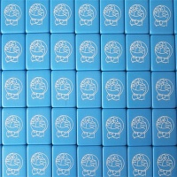 叮当猫蓝胖子多啦A梦机器猫麻将牌家用可爱卡通中大号天蓝