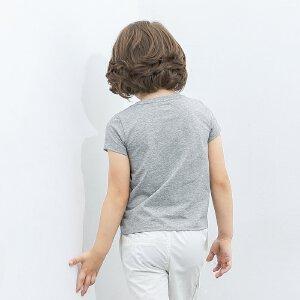 【尾品汇 5折直降】amii童装男童短袖T恤中大童上衣2017夏装新款儿童潮流打底衫男