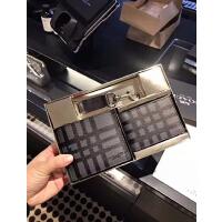 美国正品COACH/蔻驰男士钱包短款真皮对折卡包新款钱包礼品盒套装