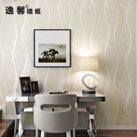 现代简约波浪曲线条纹3D立体雕刻无纺布壁纸客厅卧室餐厅背景墙纸 仅墙纸