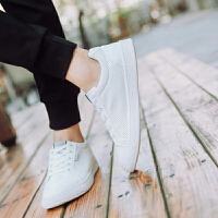 小白鞋男士休闲百搭白色潮鞋子男夏季男鞋子新款韩版防滑板鞋透气