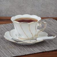 生日礼物简约英式下午茶茶具套装家用欧式咖啡杯套装陶瓷咖啡套具整套父亲节送女友送男友送朋友送女友