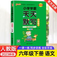 小学学霸天天默写六年级下册语文 人教部编版2020新版