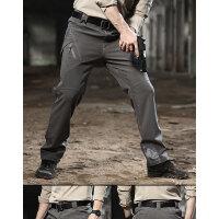 冲锋裤战术裤户外热反射战术裤软壳登山骑行加厚防水防风长裤