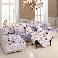 晚歌沙发垫四季通用双面沙发坐垫可机洗单双人沙发巾套坐垫单双三人沙发座