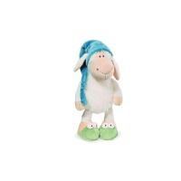 睡帽毛绒玩具玩偶安睡娃娃玩具礼物羊公仔