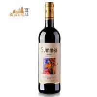 蓝菲 原瓶进口 法国夏蜜尔美乐干红葡萄酒 750ml/瓶