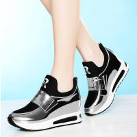 百年纪念内增高女鞋新款休闲鞋韩版百搭单鞋厚底运动鞋子6015