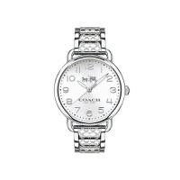【网易考拉】COACH 蔻驰 女士钢带石英数字折叠扣手表