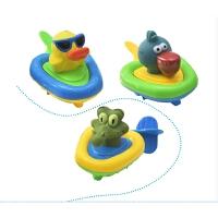 宝宝洗澡玩具儿童漂浮发条游泳池戏水玩具宝宝浴室玩水玩具
