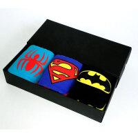 超人内裤男士青年卡通三角裤蜘蛛蝙蝠侠