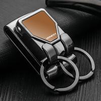 百诚穿皮带腰带型钥匙扣男士腰挂皮带钥匙扣汽车腰式扣高档钥匙环