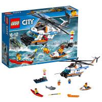 LEGO乐高城市系列重型救援直升机60166
