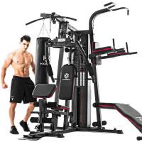 家用综合训练器三人站大型器械力量套装组合多功能健身器材