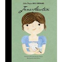 小女孩,大梦想:简・奥斯汀 Jane Austen 英文原版 精装绘本 名人传记 Little People, Big