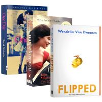 Flipped 怦然心动 英文原版小说3本套装 遇见你之前 我就要你好好的 Me Before You 一天 One D