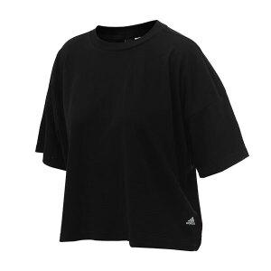 adidas阿迪达斯女装短袖T恤2018运动服S97196
