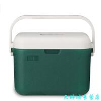户外便携车载保温箱包 冷藏箱外卖保鲜箱野餐包冰袋背奶箱5L 藏青