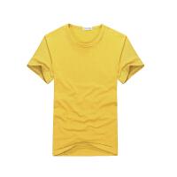 20180402220810162班服定制T恤印logo空白广告衫文化衫团队工作服装DIY定做聚会衣服 XS-3XL都
